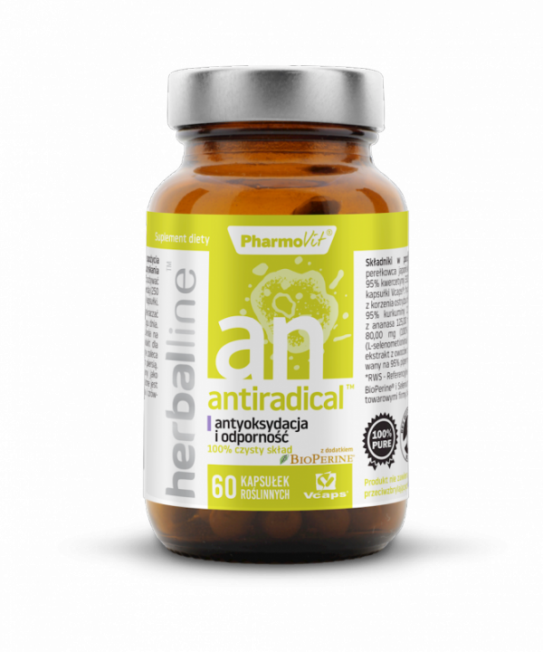 Herballine Antyradical™ antoksydacja i odporność 60 kapsułek