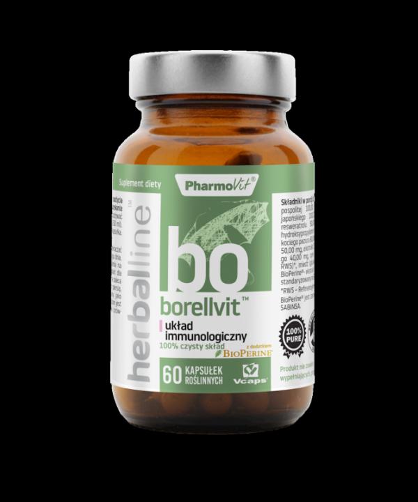 Herballine Borellvit™ układ immunologiczny 60 kapsułek