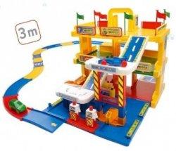 KID CARS 3D GARAŻ Z TRASĄ 3M 3 POZIOMY WADER - 50400 #A1