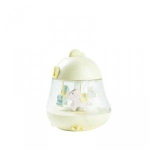 Lampka z pozytywką Kurczaczek żółta