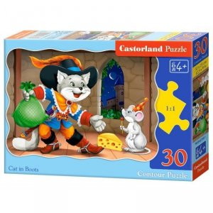 Puzzle 30 el. cat in boots