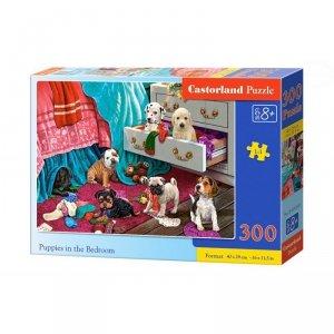 Puzzle puppies in bedroom 300