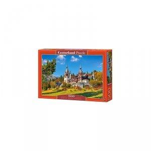Puzzle castle peles romania500