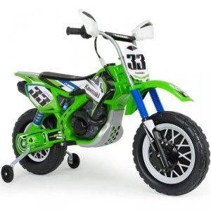 INJUSA Kawasaki Motor Elektryczny Cross 12V + boczne kółka