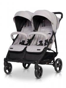 EASY GO Wózek dla bliźniąt DOMINO PEARL
