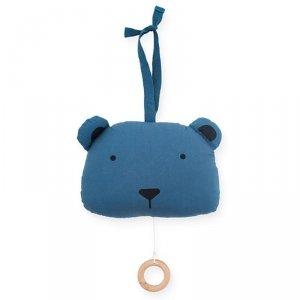 Jollein - Pozytywka do usypiania Animal Club Steel Blue