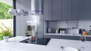 Okap kuchenny wyspowy BN-553 INOX