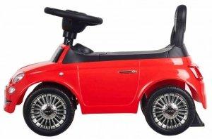 Jeździk Fiat 500 - Corallo czerwony