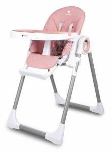 Krzesełko do karmienia Fidi Pink