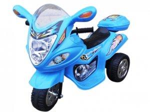 Motorek M1 niebieski, motorek na akumulator