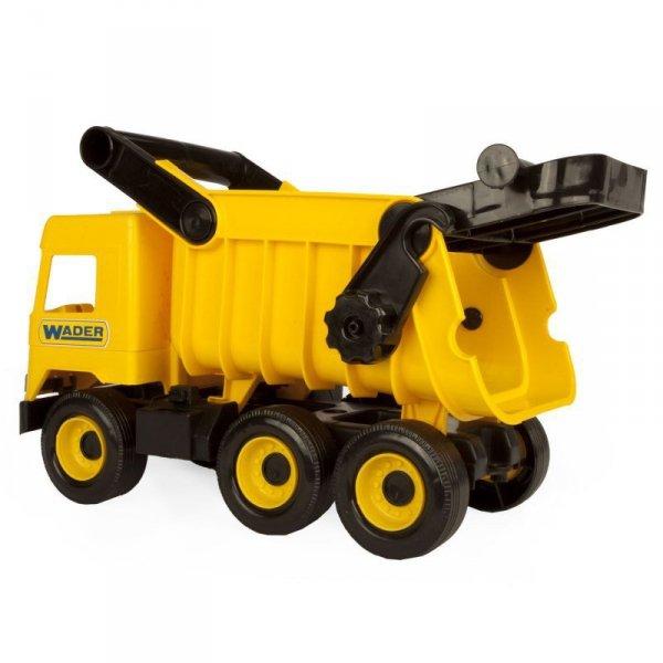 Middle truck wywrotka żółta