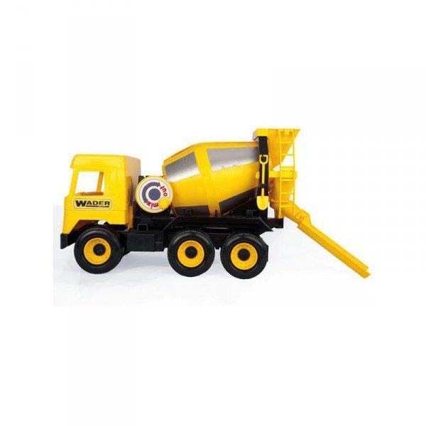 Middle truck betoniarka żółta
