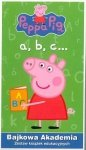 Świnka Peppa Bajkowa akademia a, b, c Zestaw książek edukacyjnych
