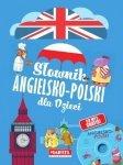 Słownik angielsko-polski dla dzieci (+ CD) Katarzyna Sandecka (niebieski)