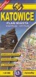 Katowice Plan miasta Skala 1:20 000