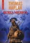 BURZA NIEBIOS Część III cyklu Klątwa imperium Thomas Harlan