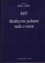 Metafizyczne podstawy nauki o cnocie Immanuel Kant