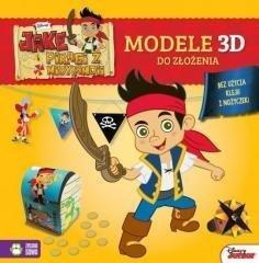 Jake i piraci z Nibylandii Modele 3D do złożenia żółte