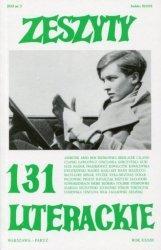 Zeszyty literackie 131
