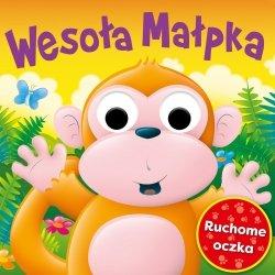 Wesoła małpka Ruchome oczka