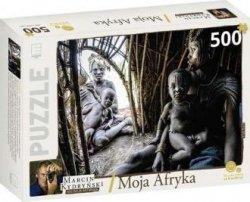 Moja Afryka Etiopia Kolekcja Marcina Kydryńskiego (puzzle 500-elem)