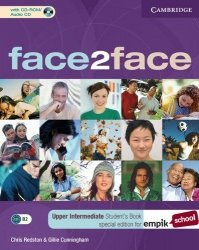 face2face Upper Intermediate Student's Book with CD-ROM/Audio CD EMPIK ed.