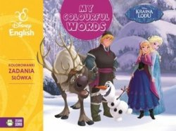 My colourful words! Kraina Lodu Disney English