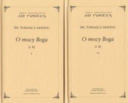 O mocy Boga Tom II Cz 1 i 2 Seria dwujęzyczna św Tomasz z Akwinu