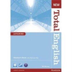 New Total English Advanced Teachers Book plus CD-ROM Język angielski poradnik nauczyciela