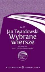 Jan Twardowskie Wybrane wiersze Biblioteka Opracowań Lektur Szkolnych nr 02