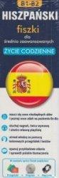 Hiszpański Fiszki dla średnio zaawansowanych Życie codzienne + CD