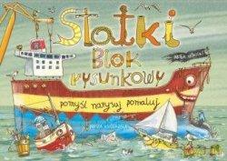Statki Blok rysunkowy Artur Nowicki
