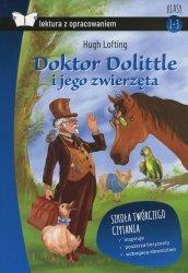 Doktor Dolittle i jego zwierzęta Lektura z opracowaniem (oprawa twarda) Hugh Lofting