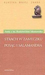 Strach w Zameczku Posąg i salamandra Anna z ks Radziwiłłów Mostowska