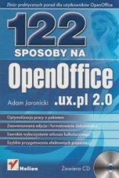 122 sposoby na OpenOfficeuxpl 20 + CD Adam Jaronicki