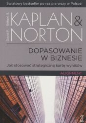 Dopasowanie w biznesie Robert S Kaplan David P Norton
