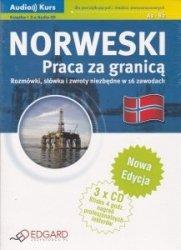 Norweski Praca za granicą Rozmówki słówka i zwroty niezbędne w 16 zawodach Książka + 3x Audio CD