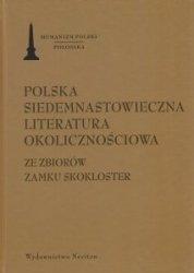 Polska siedemnastowieczna literatura okolicznościowa Ze zbiorów Zamku Skokloster
