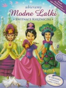 Ubieramy modne lalki Kwitnące księżniczki