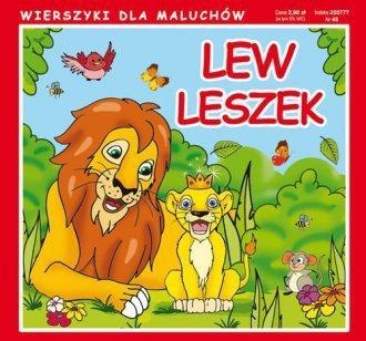 Wierszyki dla maluchów Lew Leszek Krystian Pruchnicki, Emilia Majchrzyk