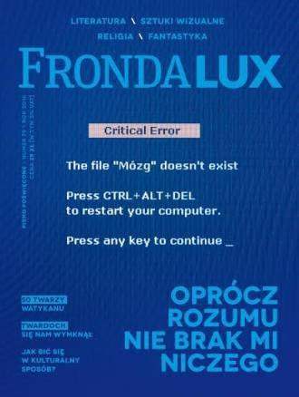 Fronda Lux nr 79 Oprócz rozumu nie brak mi niczego