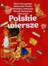 Polskie wiersze Maria Konopnicka Aleksander Fredro Stanisław Jachowicz (czerwone)