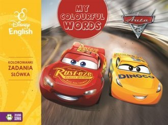 Auta 3 Disney English My colourful words