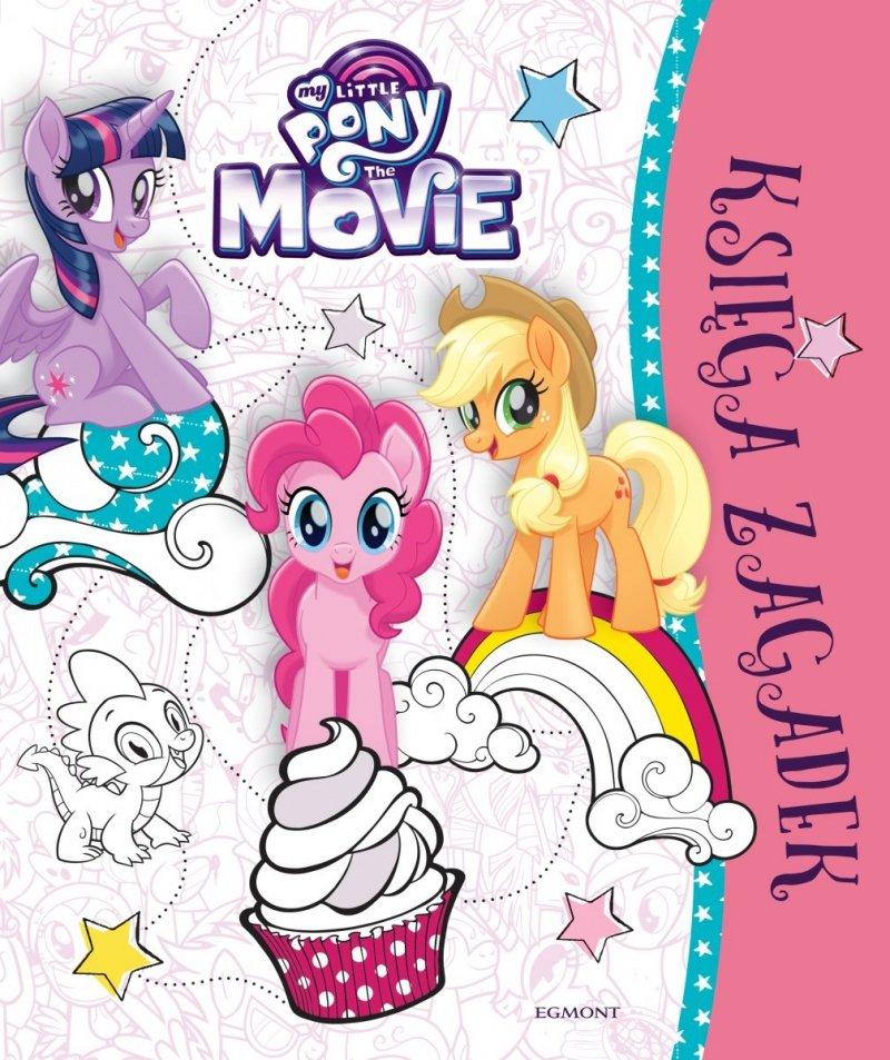 Księga zagadek My little Pony The Movie