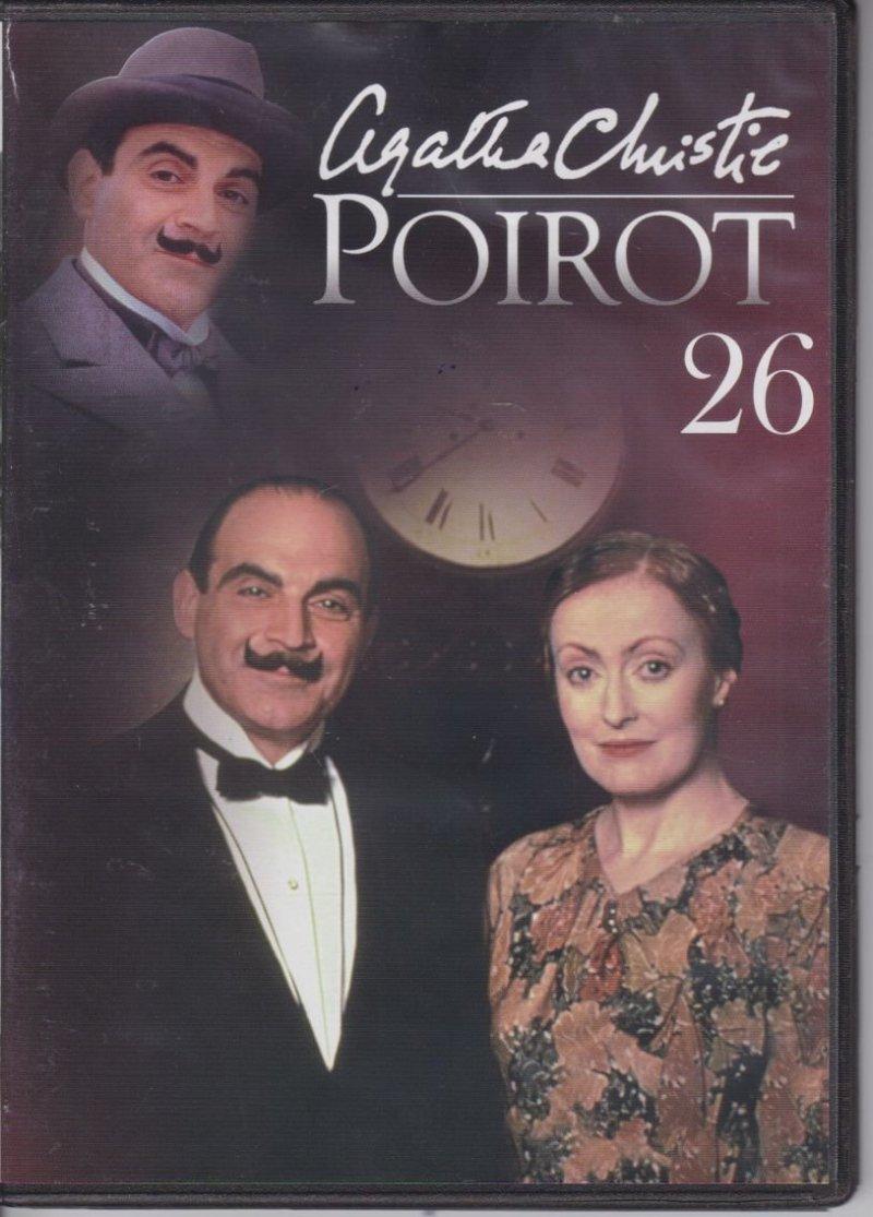 Agatha Christie Poirot cz. 26 Entliczek pentliczek DVD