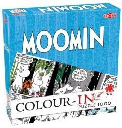 Puzzle Moomin Color-in do kolorowania