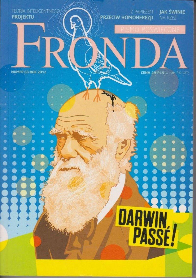 Fronda nr 63 Darwin Passe!