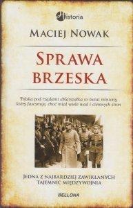 Sprawa brzeska Maciej Nowak