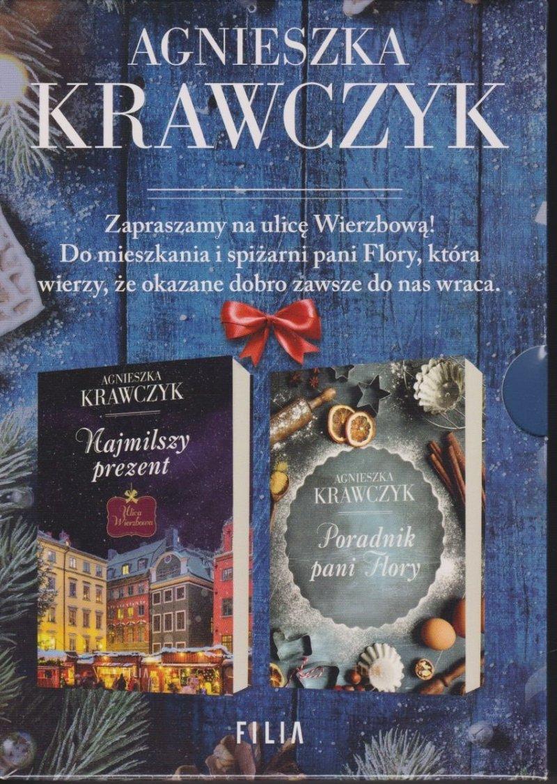 Najmilszy prezent; Poradnik pani Flory Agnieszka Krawczyk PAKIET komplet