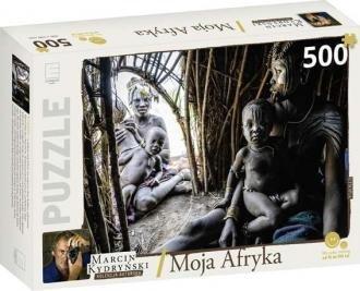Moja Afryka. Etiopia. Kolekcja Marcina Kydryńskiego (puzzle 500-elem.)